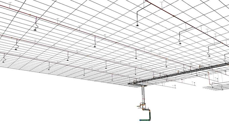 3D Modeling Fire Sprinkler Design